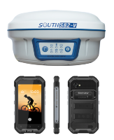 Комплект ровера RTK South S82-V GSM + Blackview-b6000