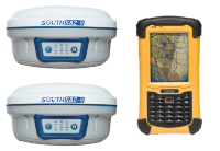 Комплект GNSS RTK 2*South S82-V GSM/UHF + Getac 336